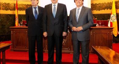 Ignacio Para, Agustin Rivero y Jesús Acebillo