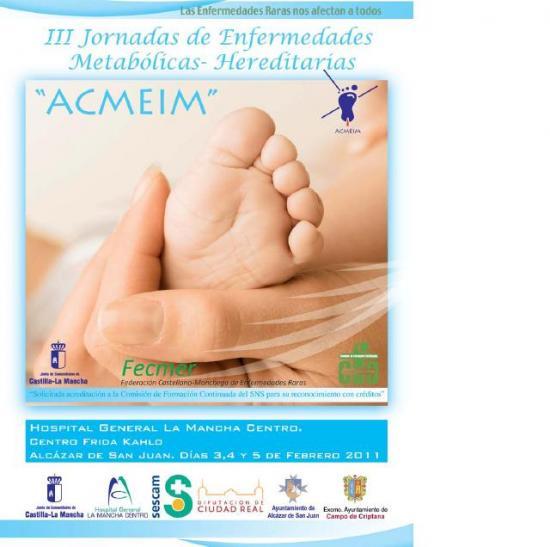 III Jornadas de Enfermedades Metabolicas Hereditarias - ACMEIM. Fecmer
