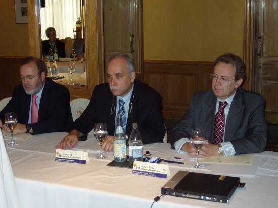 Rafael Perez Santamarina, Francisco Trdaguila e Ignacio Para