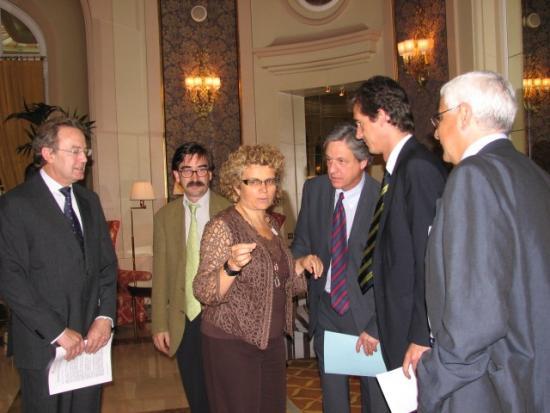 Ignacio Para, Francesc Instituto Salud y Dependencia, Joan Guanyabens Secretario