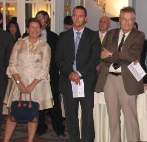 Paloma Beltrán de Boston Scientific, Javier Lopez de Microsoft y Josep Manyac de