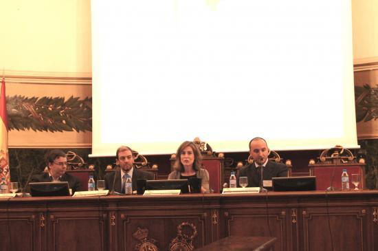 Rogelio Pardo (Madrid Biocluster), Ignacio Para (Fundación Bamberg) y Rafael Lam