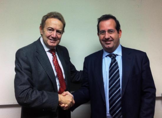 Ignacio Para y Javier Martí acuerdo