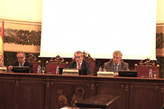 Lluis Triquell (Antares) Rogelio Prado y Eduardo Fraile (Anillo Radiologico)
