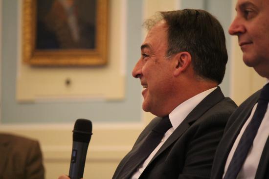 Luis Mora, Director General de PharmaMar durante su intervencion
