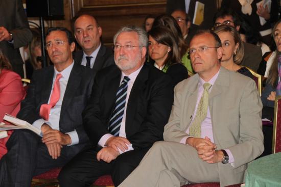 Mario Mingo, Bernat Soria y Julio Zarco