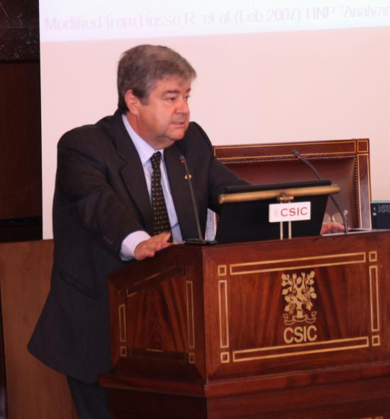 El prof. Guillem López-Casasnovas
