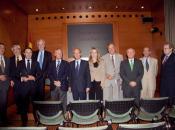 De izda a dcha: Alfonso Coronel de Palma, Presidente de la Fundación COPE; Amand