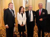 Ignacio Para, Brígida Mendoza, Salvador Arribas e Ignacio Balboa