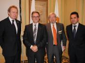 Ignacio Para, Felipe Petriz, Salvador Arribas y Miguel de Frutos