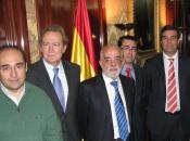 El Presidente de la Fundación Bamberg Ignacio Para y el Subdirector General de l