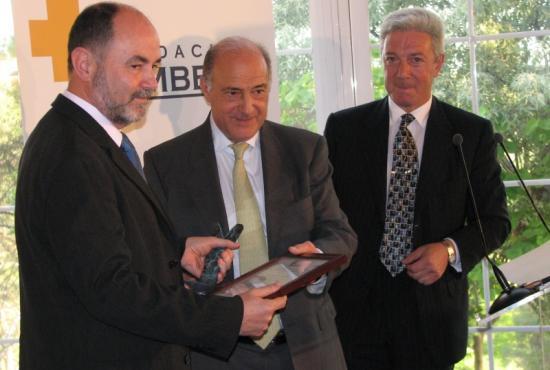 El Presidente de la Fundación del Corazón, Eduardo de Teresa