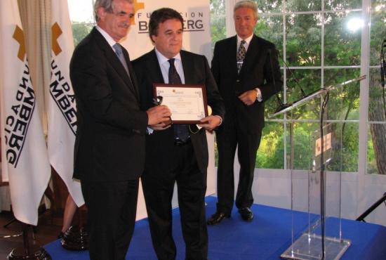 Premio a los medios de comunicación de la Salud a Sanifax