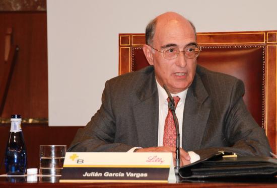 El Exministro Julián García Vargas